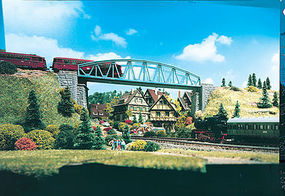 Vollmer Truss Bridge w/Arched Sides N Scale Model Railroad Bridge #47302