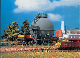 Vollmer Spherical Gas Tank Kit N Scale Model Railroad Building #47547