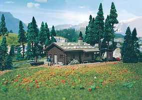 Vollmer Alpine Lodge Kit N Scale Model Railroad Building #47743