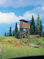 Vollmer Hunting Tower Kit N Scale Model Railroad Building #47749