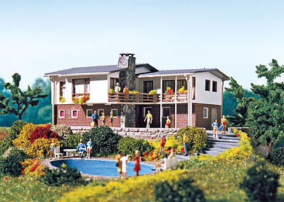 Vollmer Bungalow Kit N Scale Model Railroad Building #47762