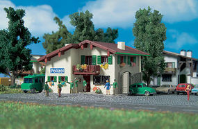Vollmer Police Station Kit N Scale Model Railroad Building #47779