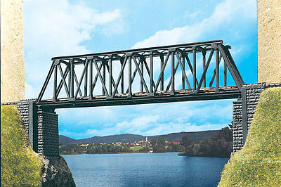 Vollmer Large Truss Bridge Kit N Scale Model Railroad Bridge #47801