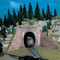 Vollmer Tunnel Portal Signal Kit N Scale Model Railroad Miscellaneous Scenery #47811