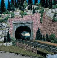Vollmer Double Track Tunnel Portal Kit N Scale Model Railroad Miscellaneous Scenery #47812