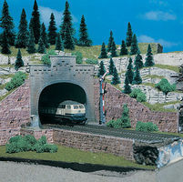 Vollmer Double Track Tunnel Portal Kit N Scale Model Railroad Miscellaneous Scenery #47813
