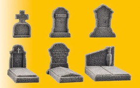 Vollmer Deco-Set Tombstones 6/
