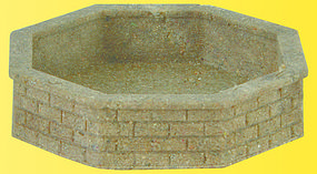 Vollmer Brick Fountain 2/ - HO-Scale (2)