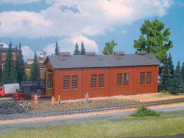 Vollmer Locomotive Shed Kit HO Scale Model Railroad Building #49112