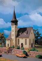 Vollmer Church Kit HO Scale Model Railroad Building #49210
