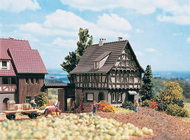 Vollmer Classic Half-Timber House Z Scale Model Railroad Building #49530