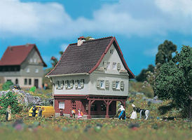 Vollmer Small House Z Scale Model Railroad Building #49552