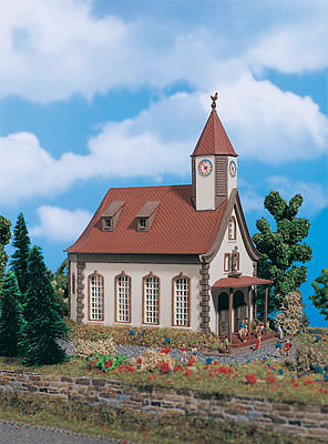 Vollmer Gmbh Village Church -- Z Scale Model Railroad Building -- #49560