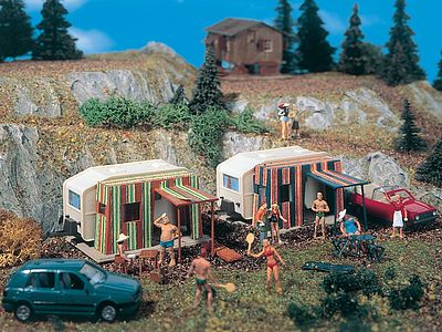 Vollmer Gmbh Camper Trailers - HO-Scale (2)