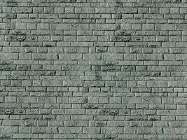 Vollmer Stone Embossed Sheet Porphyry Gray Brick (10) HO Scale Model Railroad Scratch Supply #6052