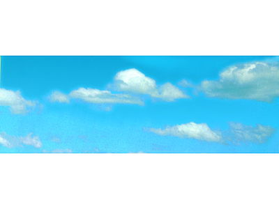 Vollmer Gmbh Sky & Clouds Background Scene -- 112 x 32'' 280 x 80cm