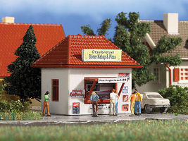 Vollmer Snack Bar Kit N Scale Model Railroad Building #7618