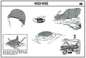 Verlinden Mesh Wire Plastic Model Detailing Accessory #0048