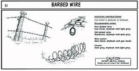 Verlinden Barbed Wire Plastic Model Detailing Accessory Kit 1/35 Scale #0051