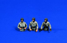 Verlinden 54mm WWII Russian Tank Crew Resin Model Military Figure Kit 1/32 Scale #0303