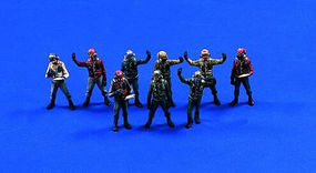 Verlinden USN Carrier Deck Crew Resin Model Military Figure Kit 1/48 Scale #0310