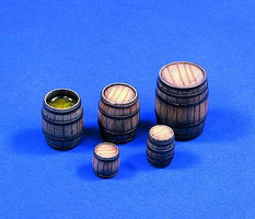 Verlinden Wooden Barrels Plastic Model Detailing Accessory Kit 1/35 Scale #0379