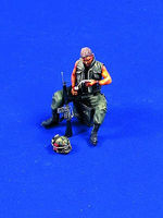 Verlinden 54mm Dear John Vietnam Resin Model Military Figure Kit 1/32 Scale #0420