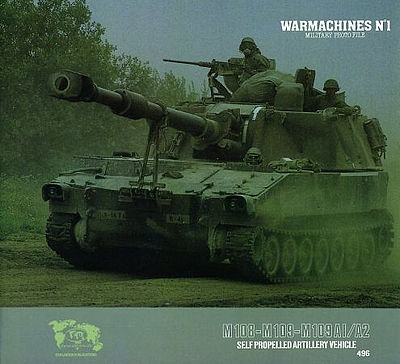 Verlinden Productions War Machines #1 M108,M109 -- Authentic Scale Tank Vehicle Book -- #0496