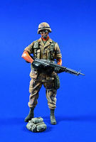 Verlinden 120mm 82nd Airborne Desert Shield Resin Model Military Figure Kit 1/16 Scale #0543