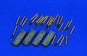 Verlinden 75mm German PAK Ammo Plastic Model Weapon Accessory 1/35 Scale #0577