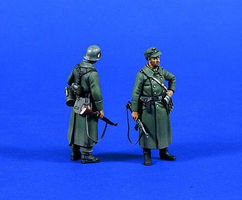 Verlinden German Infantry in Coats Resin Model Military Figure Kit 1/35 Scale #0644