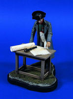 Verlinden 120mm Napoleon with Map Table Resin Model Military Figure Kit 1/16 Scale #0649