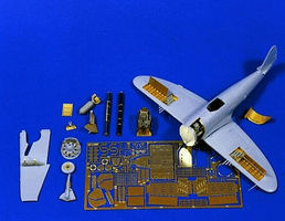 Verlinden P47 Super Detail Set Plastic Model Aircraft Accessory 1/72 Scale #0654