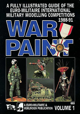 Verlinden Productions War Paint Euromilitaire Book -- How To Model Book -- #0693
