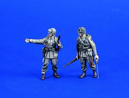 Verlinden WWII US Paratroopers Resin Model Military Figure Kit 1/35 Scale #0702