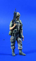 Verlinden 120mm US Infantry Desert Storm Resin Model Military Figure Kit 1/16 Scale #0732