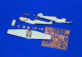 Verlinden Bf109 Update Set Plastic Model Aircraft Accessory 1/72 Scale #0775