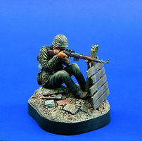 Verlinden 120mm WWII German SS Sniper Resin Model Military Figure Kit 1/16 Scale #0796