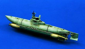 Verlinden Bieber Mini-Sub Resin Model Military Ship Kit 1/35 Scale #0810