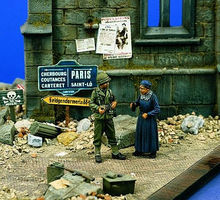 Verlinden Liberation Normandy (1944) Resin Military Diorama Kit 1/35 Scale #0838