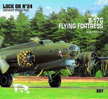 Verlinden Lock On #24 B-17G Flying Fortress Authentic Scale Model Airplane Book #0897