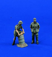 Verlinden Afrika Korps Party Resin Model Figure Kit 1/35 Scale #0950