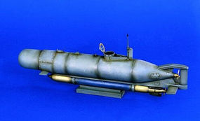 Verlinden Hecht Mini Submarine Resin Model Military Ship Kit 1/35 Scale #1015