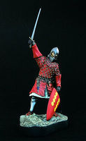 Verlinden 120mm Spanish Knight ca.1325 Resin Model Figure Kit 1/16 Scale #1070
