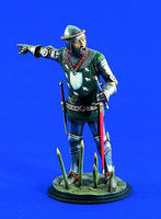 Verlinden 120mm Sir Thomas Erpingham Resin Model Figure Kit 1/16 Scale #1165