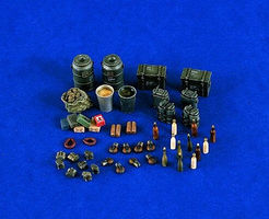 Verlinden German Food Supplies Plastic Model Detailing Accessory 1/35 Scale #1204