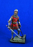 Verlinden 120mm Earl of Warwick ca.1400 Resin Model Figure Kit 1/16 Scale #1211