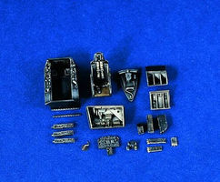 Verlinden F86F30 Sabre Update Set Plastic Model Aircraft Accessory 1/48 Scale #1232