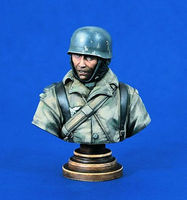 Verlinden 200mm Fallschirmjager Bust Resin Model Military Figure Kit 1/10 Scale #1263