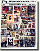 Verlinden Nazi Propaganda Posters Plastic Model Random Decal 1/35 Scale #1264